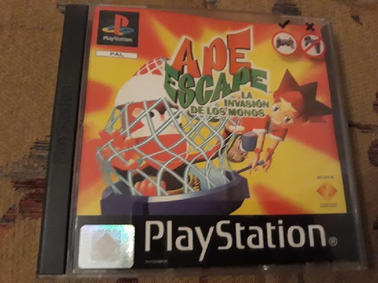 Ape escape psx play station 1