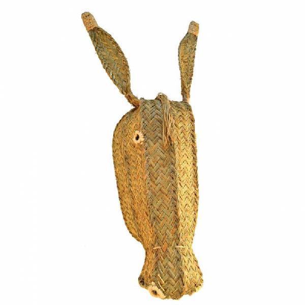 Cabeza de burro esparto grande r6159