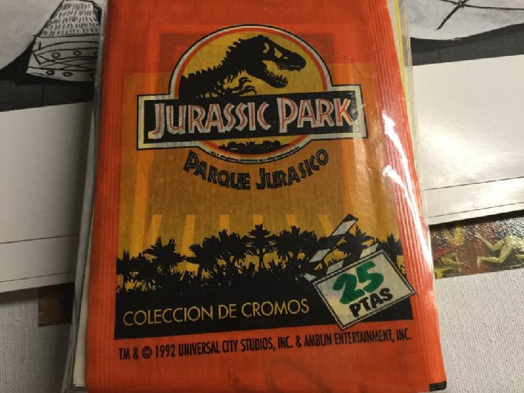 Colección completa 240 cromos jurassic park -