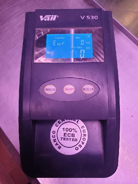 Detector billetes totalmente actualizable