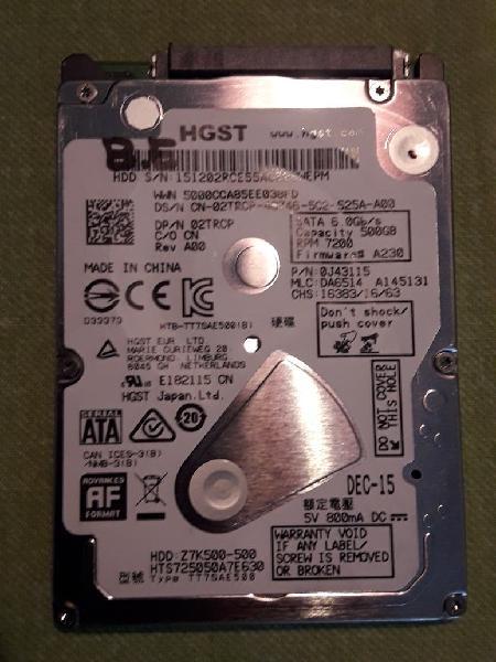 Disco duro sata, es de ordenador portatil.