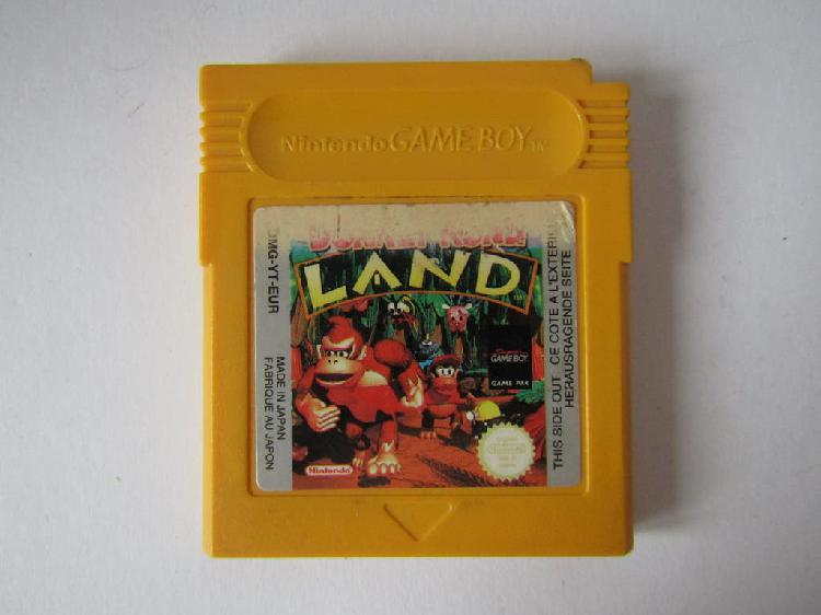 Donkey kong land (nintendo game boy) solo cartucho