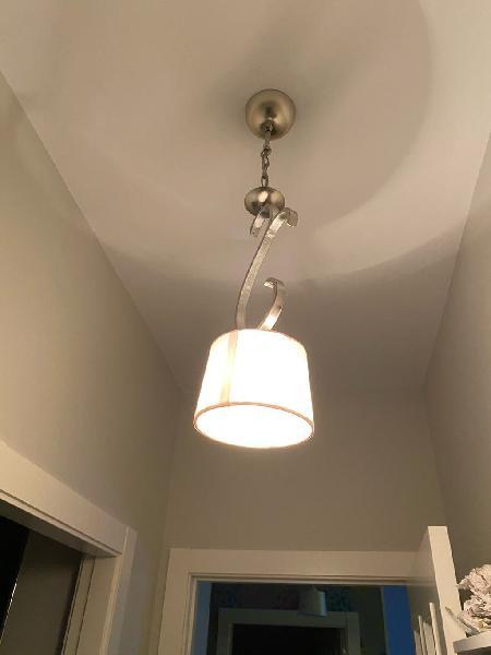Dos lamparas techo