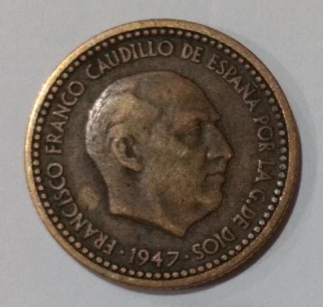 Escasa 1 peseta franco 1947 *52 ( negociable)