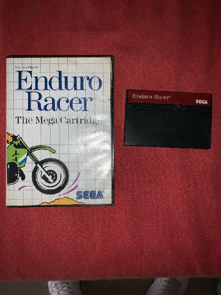 Enduro racer master system ii perfecto estado