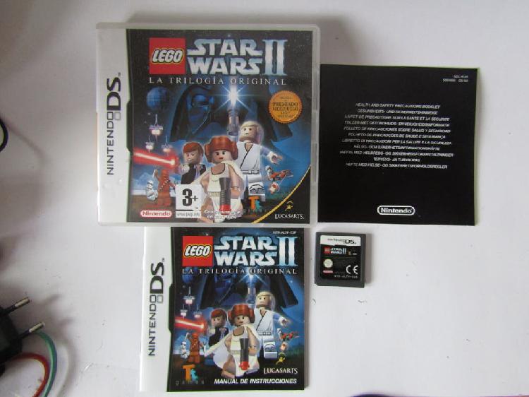 Lego star wars ii la trilogía original nintendo ds