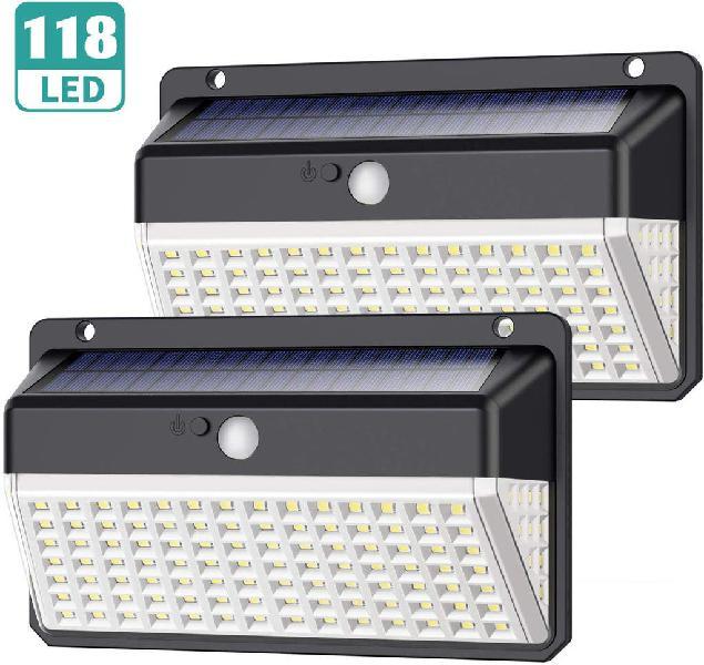 Luz solar 118 led 1000lm (nuevos)