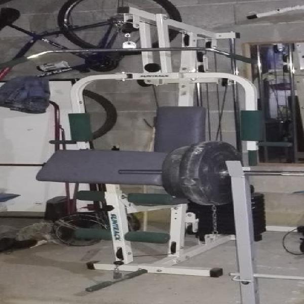Máquina musculación multifunción