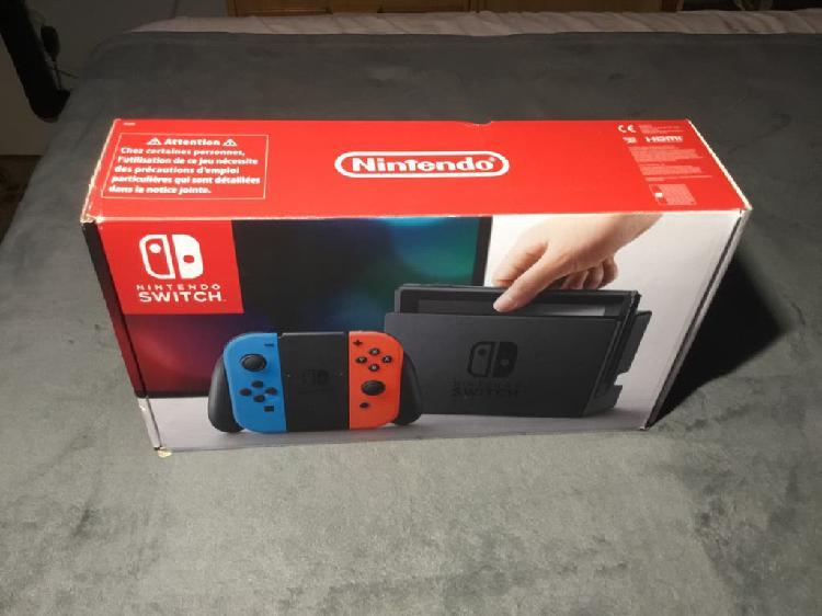Nintendo switch nueva + factura y garantía !!!!!!!