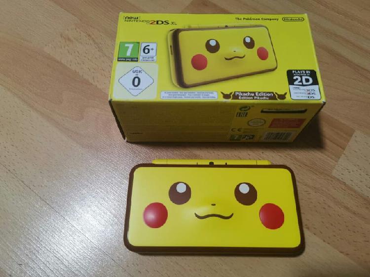 New 2ds xl pikachu edition