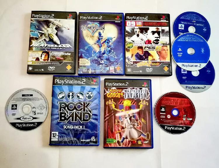 Ps2 playstation psx lote juegos nuevo usado y demo