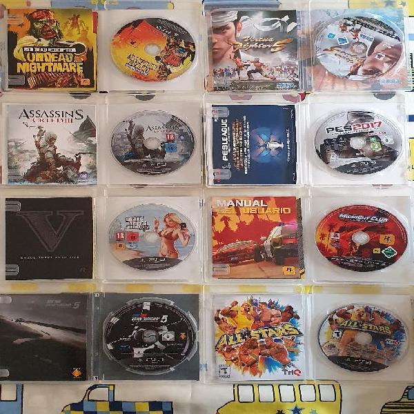 Pack juegos play 3