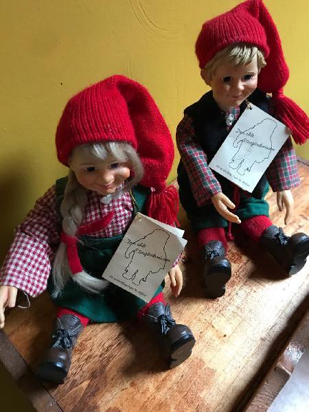 Pareja de muñecos ideales -noruega