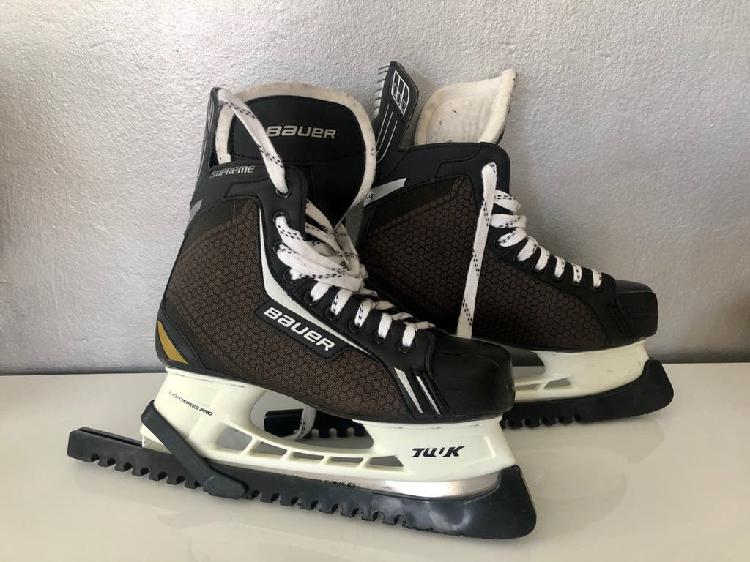 Patines hielo/ patines hockey bauer supreme