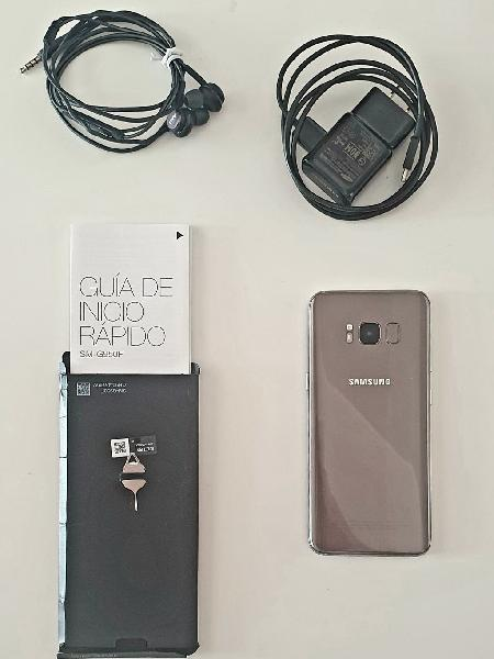 Samsung galaxys8sm g950f 64gb gold en impecable