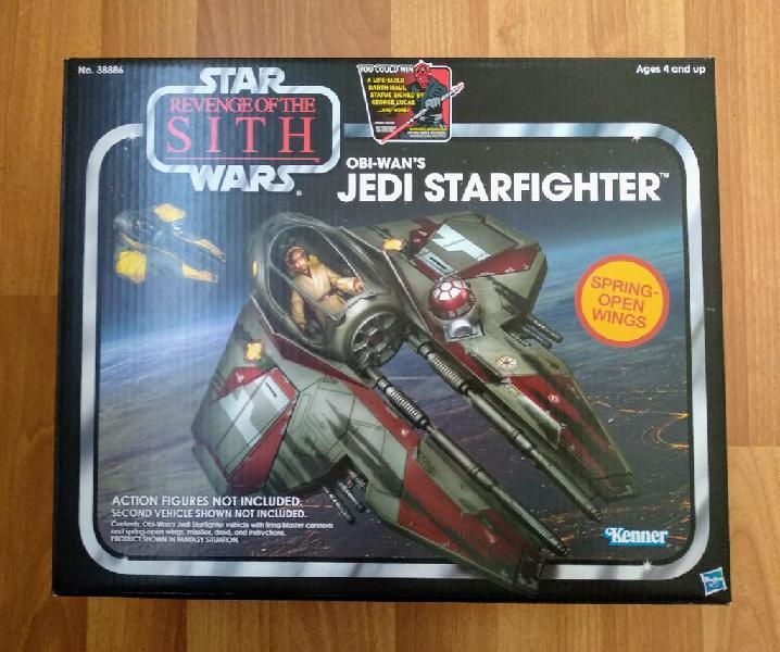 Star wars obi wan's starfighter vintage collection