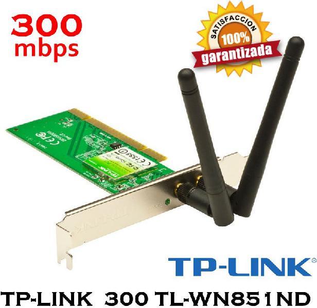 Tp-link 300 tl-wn851nd slot pci