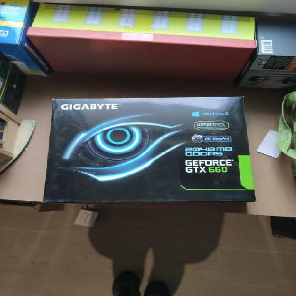 Tarjeta de video gigabyte nvidia geforce gtx 660 c