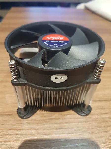 Ventilador disipador cpu 775 intel