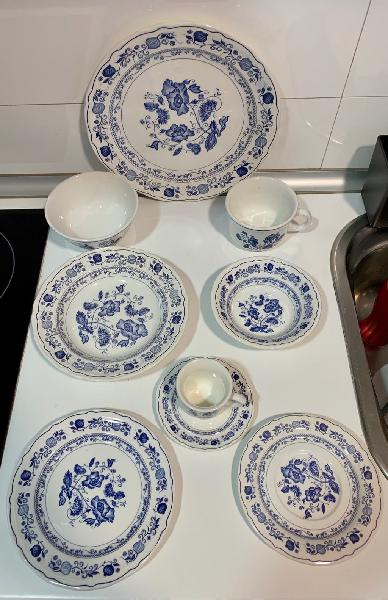 Vajilla ceramica quadrifoglio made in italy