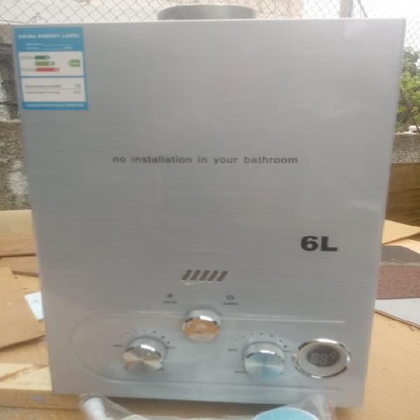 Calentador gas butano 6 litros