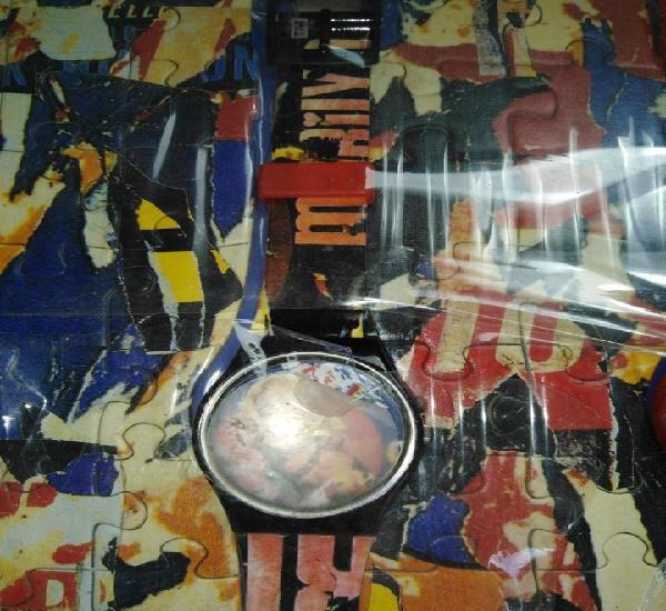 2 relojes swatch colección marilyn monroe y tigre bengala