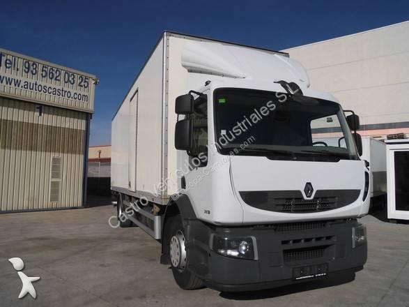 Camión renault furgón premium 280 dxi 4x2 euro 4 rampa