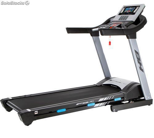 Cinta de correr bh fitness f9r con pantalla tft: equipada