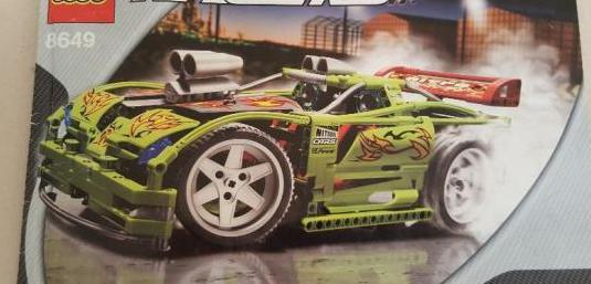 Lego 8649 racers