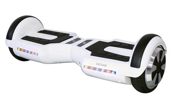 Patinete eléctrico scooter denver dbo6502white blanco