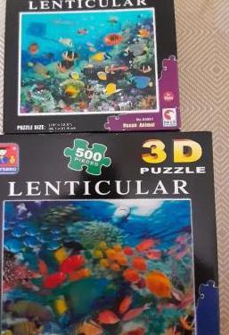 Puzzles lenticulares 3d