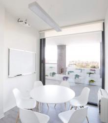 Sala de reuniones en centro de negocios santander