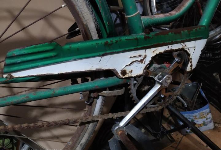 Cubrecadenas bh bicicleta bh varillas clasica, original