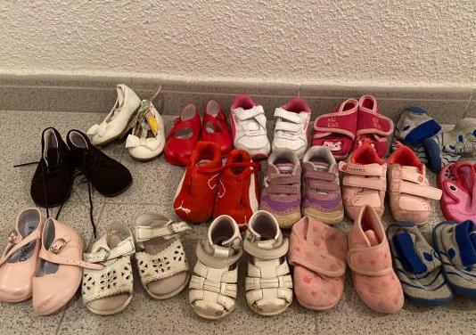 Lote calzado números 18 al 20