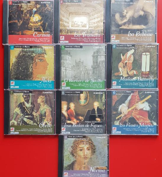 10 cds música, las mejores óperas de la historia