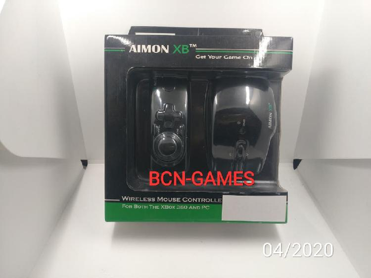 Aimon xb wireless mouse controller pc y xbox 360