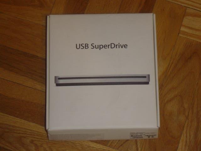 Apple unidad superdrive 8x (a1379) conexión usb.