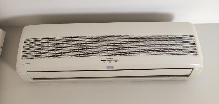 Aire acondicionado 2x1 hitachi dc inverter