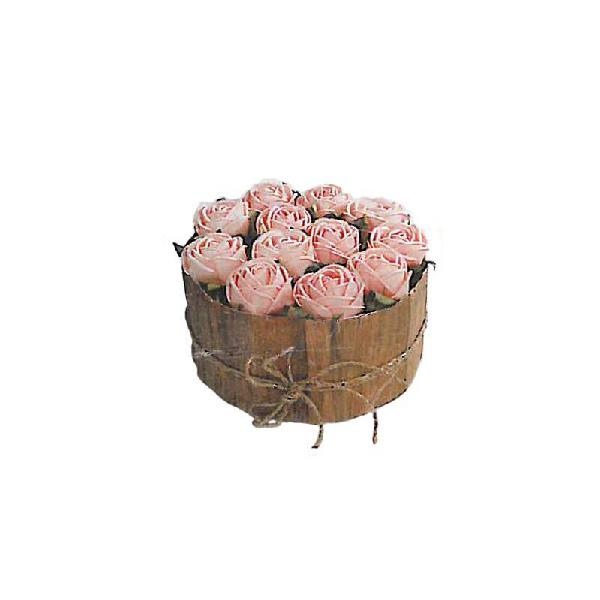 Centro de rosas color rosa r6563