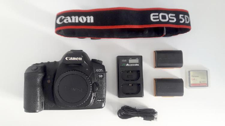 Cámara canon eos 5d mark ii réflex digital