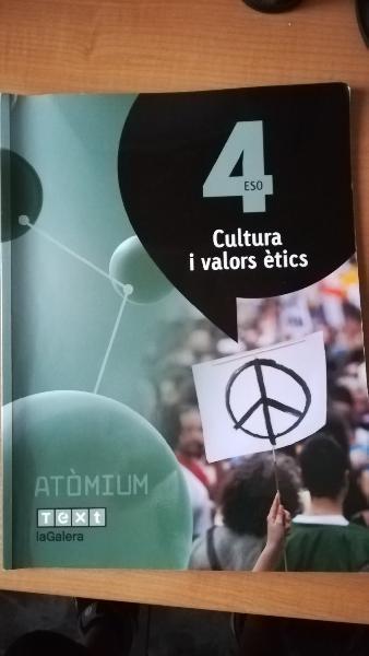 Cultura i valors ètics 4 eso atòmium - 97884412231