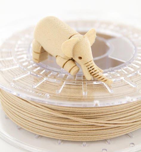 Filamento impresora 3d madera - colorfabb woodfill