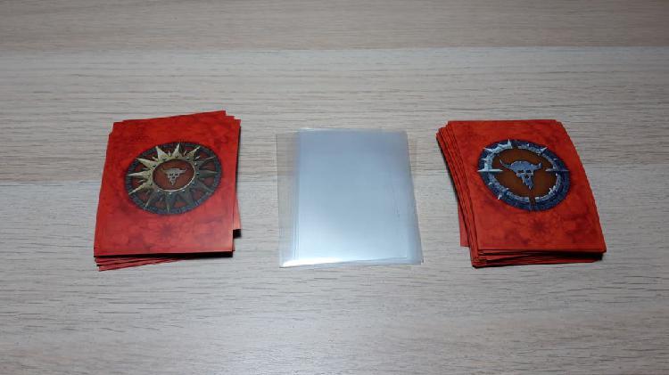 Fundas de cartas para warhammer underworlds