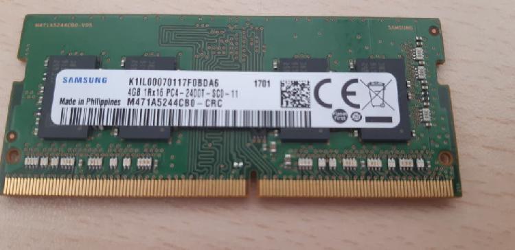 Memoria ram 4-gb, pc4-2400