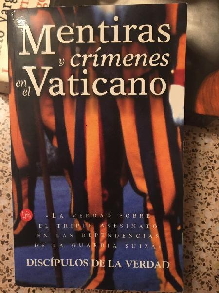 Mentiras y crímenes en el vaticano.