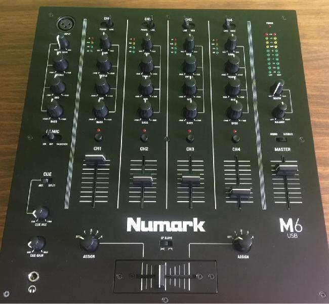 Mesa de mezclas numark m6 usb