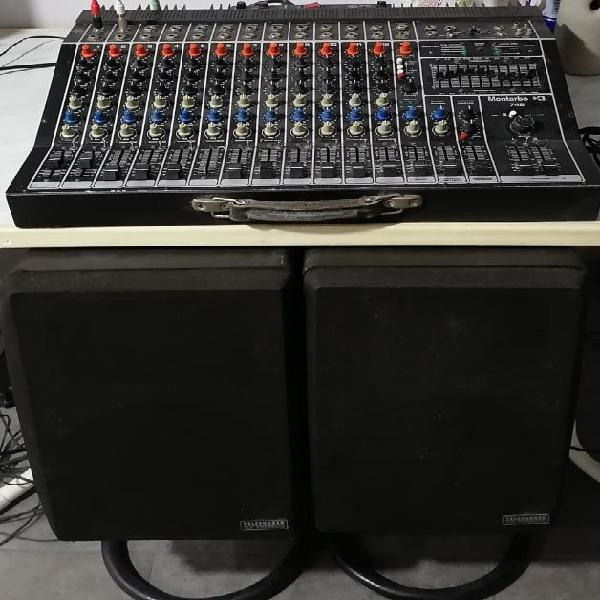 Montarbo 748 + Telefunken TLX 22 Professional