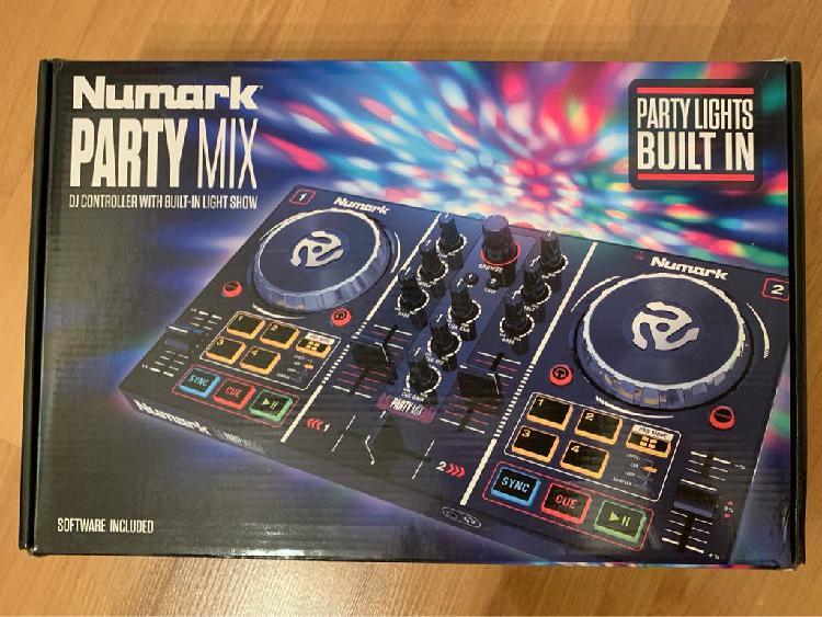 Numark party mix. tabla mezclas dj