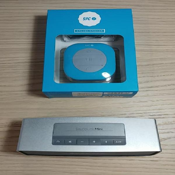 Pack sonido bose soundlink mini + splash speaker