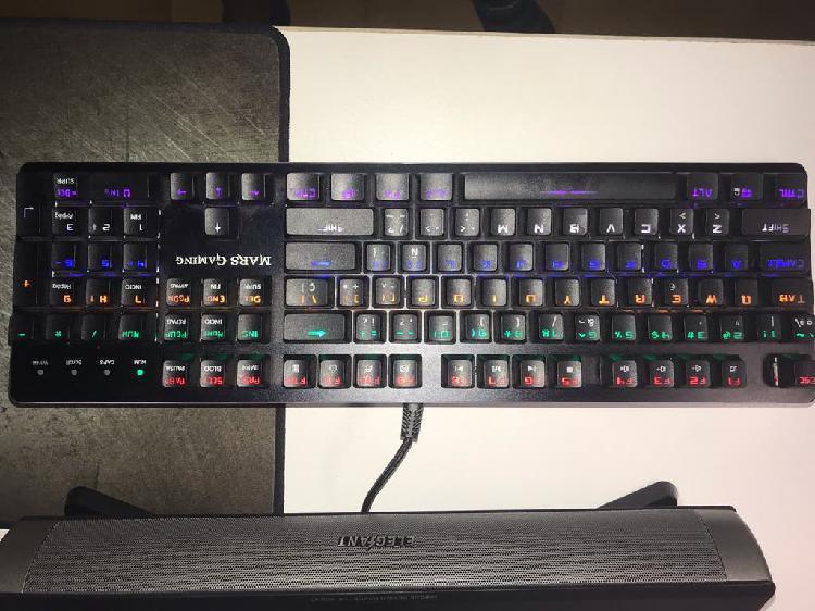 Pack teclado y ratón gaming